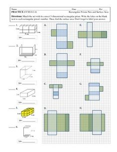 FREE Surface Area of Pyramids and Effects of Dimensional Change ...