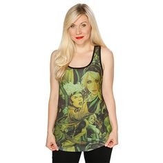 Rogue Collage Ladies' Tank Top - Exclusive