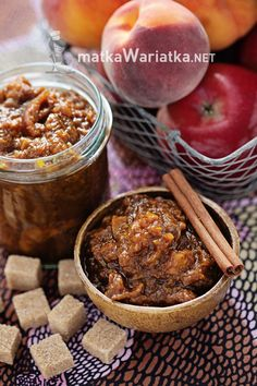 chutney - apple and peach