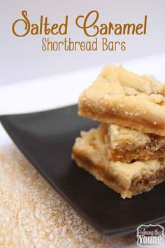 Among the Young: Blog Hop – Ooey Gooey Salted Caramel Shortbread Bars... These look AMAZING!!!! #saltedcaramel #shortbread
