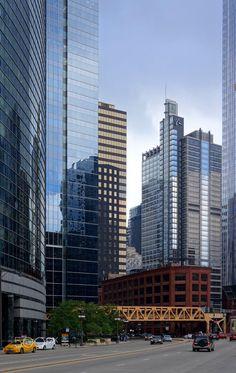 Chicago (USA) - Chicago in USA. Chicago Usa, Skyscraper, Multi Story Building, Architecture, Modern, Arquitetura, Skyscrapers, Trendy Tree, Architecture Design