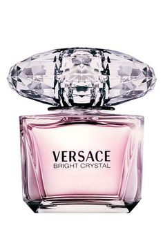 Bright Crystal by Versace, Eau de Toilette. A lightly floral, feminine fragrance. A curious subtle freshness. $67 for 1.7oz #theperfectgift