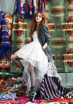 Han Ye Seul for Cosmopolitan Sept `15
