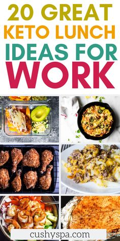 20 Great Keto Lunch Ideas for Work Want to stay on the ketogenic diet even with a busy lifestyle? Try tehse keto lunch ideas for work and meal prep at home and continue eating low carb even in the office. Low Carb Recipes, Diet Recipes, Healthy Recipes, Diet Meals, Diet Snacks, Healthy Habits, Cooker Recipes, Keto Meal Plan, Meal Prep
