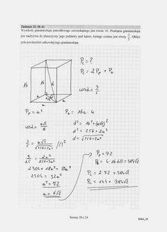 - Matua 2015 PP (stara) rozwiązania 09 School Notebooks, School Hacks, Maths, Mathematics, High School, Bullet Journal, Study, Education, Learning