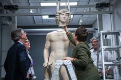 A fall caused Adam to break into hundreds of pieces. Here's how the Metropolitan Museum of Art put him back together again. Over 12 years.