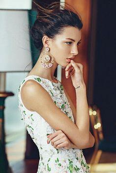 Kate King for Grazia Italy June 2014.