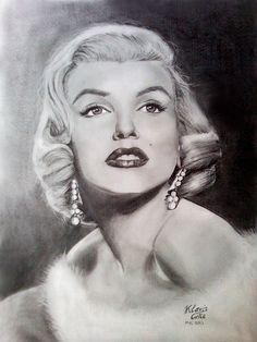 Marilyn Monroe by Klevis