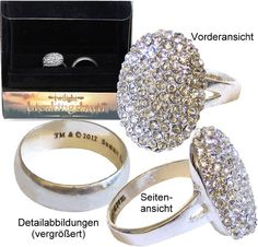 twilight breaking dawn part 2 engagement ring and wedding band set prop replica relive the - Twilight Wedding Ring