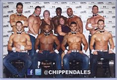 pic taken after the Chippendale's show while we were in Vegas...can anyone guess which hottie I liked? ;)