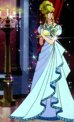 "I know, you're thinking: ""So what? She's wearing a dress."" You might like to know that this is the only time Lady Oscar wears women's clothing in all of The Rose of Versailles."