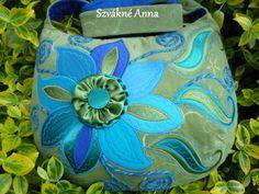 VYPRODÁNO !!  Mint a tyrkysové ..... WONDERFUL PÁR !!!  DOSTUPNÉ !, Tašky a umění, Shoulder bag, taška přes rameno, textilní, Mesko