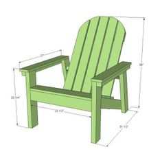 How to Build Your Own Adirondack Chairs - Home Improvement Blog
