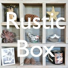 How to make a rustic box