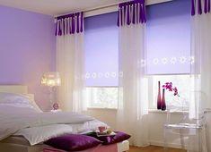 A 2018 év színe az Ultra Violet - vagyis az égszínkék lila - Agria Textil Design Stores, Ultra Violet, Curtains, Building, Modern, Home Decor, Dreams, Nice, Wraps