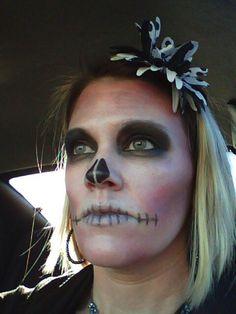 Dia de los muertos makeup / day of the dead / sugar skull