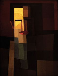 El pintor Xul Solar, 1920 óleo sobre cartón- 43 x 35 cm Firmado y fechado en el ángulo superior izquierdo. Ingresó en 1927. Donación de la Municipalidad de Rosario