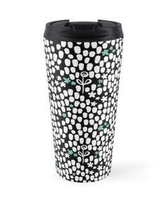 An animal skin like wild and quirky dot pattern with a floral surprise creating a strong and effective texture pattern. Textures Patterns, Travel Mug, Strong, Phone Cases, Animal, Mugs, Simple, Tableware, Floral