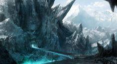 Gallery For > Fantasy Mountain Peak