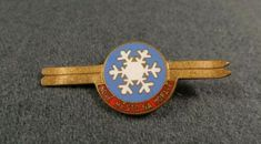 Antique Vintage Nove mesto na Morave Town City ski snow Snowflake Pin Badge Heavenly Ski Resort, British Armed Forces, Remembrance Day, Pin Badges, Lapel Pins, Snowflakes, Charity, Skiing, Bracelet Watch