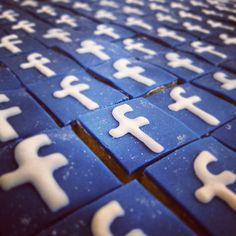 Delicious Facebook cake