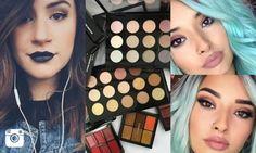 5 marcas de maquiagem que toda louca das makes deveria seguir no Instagram.