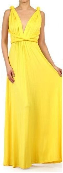 THE INFINITY WRAP Jersey MULTI-WAY Convertible 1 MAXI DRESS Long Wedding Bridesmaid
