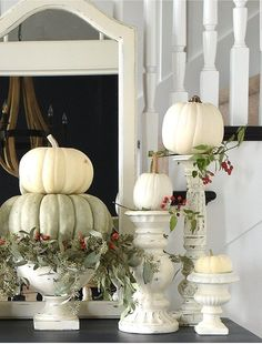 Surprising Cool Tips: Vintage Home Decor Store Apartment Therapy vintage home decor farmhouse shutters.Vintage Home Decor Diy Flea Markets vintage home decor victorian stairs.Vintage Home Decor Diy Flea Markets. Fall Home Decor, Autumn Home, Fall Decor For Mantel, Country Fall Decor, Shabby Chic Decor, Vintage Home Decor, 1950s Decor, Thanksgiving Decorations, Seasonal Decor