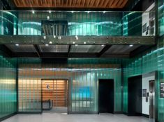 Four-story warehouse turns high-class office space using TGP's Pilkington Profilit channel glass system. Pilkington Glass, Channel Glass, Home Channel, Traditional Curtains, Polycarbonate Panels, Glass Photography, Glass Brick, Steel Curtain, Cast Glass
