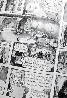 Seaside, graphic novel by Johanna Öst on Etsy