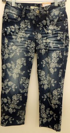 Mudd Girls Jean Capri Adjustable Waistband Size 14 #Mudd #CapriCropped #Everyday