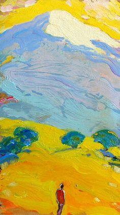 Tuomo Saali, oil on canvas 2011