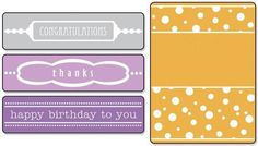 Sizzix Embossing Folders - Flourish, Dots and Ribbon Set 656980 ...