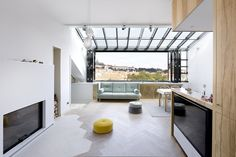 Photo 1 of 18 in A Dreamy Loft in Prague With Castle Views and an Onyx Moon - Dwell