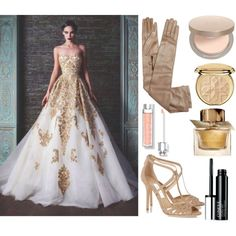 Gala #7 by sunshine24-7-1 on Polyvore featuring mode, Jimmy Choo, Prada, Eve Lom, Clinique, Christian Dior and Burberry