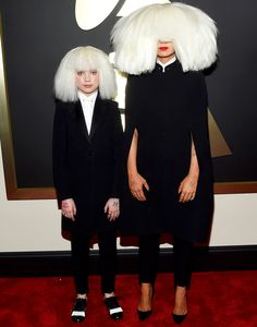 Sia + Maddie Ziegler Hair and Makeup by Tonya Brewer