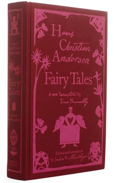 Coralie Bickford-Smith book cover design for Hans Christian Anderson Fairy Tales.