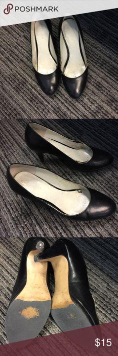 Shoes Nine West heels in black. Size 6. Good condition. Nine West Shoes Heels