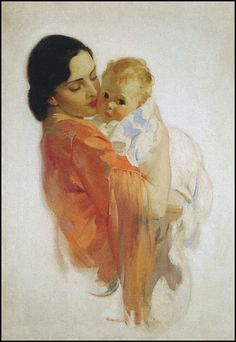 The Pictorial Arts - Haddon Sundblom Reminds me of me and my little Elle