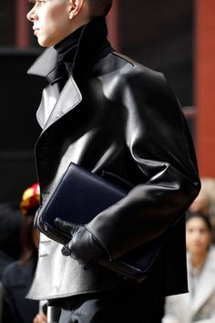 Leather! Lanvin | Fall 2014 Menswear Collection | Style.com