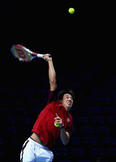 Kei Nishikori Photos: Barclays ATP World Tour Finals: Previews