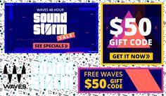 Waves Sound Storm Sale!