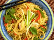 """Curried Tofu & Noodles ~ authentic Thai make a double batch of the """"paste"""" for using later"""