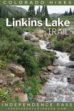 Linkins Lake Trail is short, steep, and gorgeous. For such a small adventure it is packed with everything Colorado. Take a break from the crowds near Aspen, CO, and take in this beauty that starts above the treeline to an Alpine Lake. Snowboard, Mtb, Colorado Trail, Alpine Lake, Amazing Destinations, Travel Destinations, Best Hikes, Day Hike, Hiking Trails