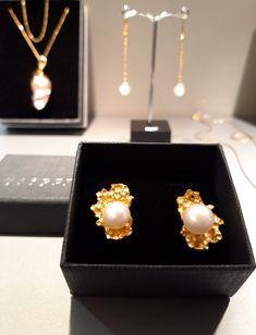 #kolczyki #srebro #perły #pearls #biżuteriaartystyczna #margotstudio