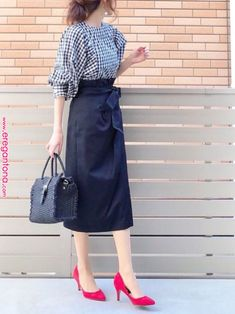 Flattering Skirt Outfits ideas that work everytime Long Skirt Fashion, Fashion Pants, Fashion Outfits, Fashion Trends, Fashion Skirts, Curvy Fashion, Modest Fashion, Fashion Fashion, Cheap Fashion
