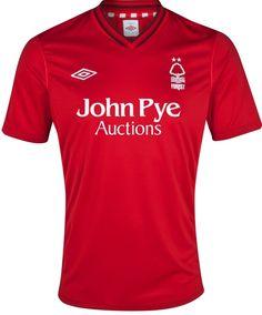 Nottingham Forest Home Kit 2012-13 Umbro