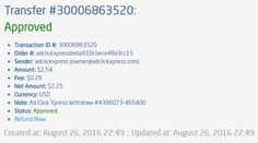 If you are a PASSIVE INCOME SEEKER, then AdClickXpress (Ad Click Xpress) is the best ONLINE OPPORTUNITY for you.Online income is possible with ACX, who is definitely paying - no scam here.Here is my Withdrawal Proof from Ad Click Xpress.