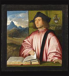 Giovanni CARIANI | Portrait of Giovanni Benedetto Caravaggi