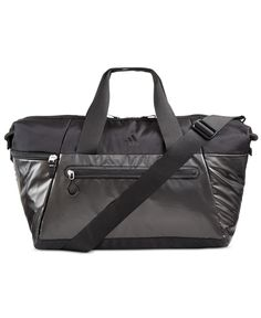 4ac437fd6592 This built-to-last Studio duffel bag from adidas has all the features you